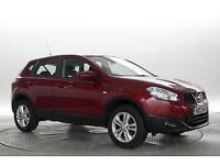 2013 (13 Reg) Nissan Qashqai 1.5 dCi Acenta 4x2 Magnetic Red 5 STANDARD DIESEL M