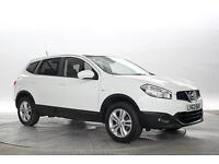 2012 (62 Reg) Nissan Qashqai+2 1.6 Acenta 4x2 White 5 STANDARD PETROL MANUAL