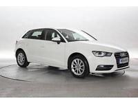 2014 (14 Reg) Audi A3 1.6 TDi SE Sportback Amalfi White 5 STANDARD DIESEL MANUAL