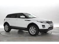 2013 (63 Reg) Land Rover Range Rover Evoque 2.2 SD4 Pure 5dr Fuji White DIESEL M