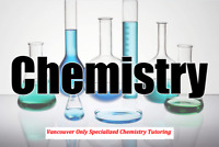 Expert PhD Chemistry Tutor UBC CHEM 123, 205, 213, 313, 121, 233