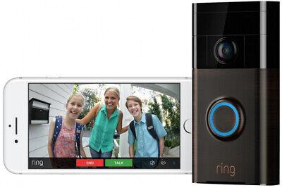 Ring Wireless Front Door Video Camera Door Bell Doorbell Chime Intercom WIFI Kit (Intercom-wifi)