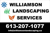 Williamson Landscaping Services Seeking Employees