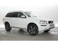 2014 (14 Reg) Volvo XC90 2.4 D5 200 R DESIGN Geartronic White DIESEL AUTOMATIC