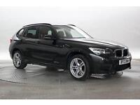 2013 (13 Reg) BMW X1 2.0 xDrive18d M Sport Black Sapphire DIESEL MANUAL