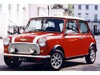 CLASSIC AUSTIN MORRIS ROVER MINIS WANTED IN ANY CONDITION ** TOP PRICES PAID **