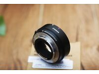 New Canon Mount Adapter EF-EOS M M6 M5 M3 M10 M100 Auto Focus Automatic