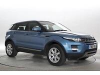 2012 (61 Reg) Land Rover Range Rover Evoque 2.2 SD4 Pure 5dr Blue DIESEL AUTOMAT