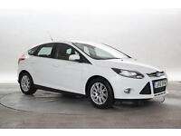 2012 (12 Reg) Ford Focus 1.6 TDCi Titanium Frozen White 5 STANDARD DIESEL MANUAL