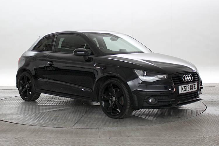 2013 13 Reg Audi A1 2 0 Tdi 143 Black Edition Black 3