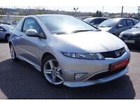 2012 Honda Civic 1.8 i-VTEC Type S GT 3dr Manual Petrol Hatchback