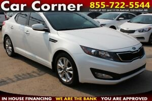 2013 Kia Optima EX Turbo - LOADED UP WITH FACTORY WARRANTY-LOOK!