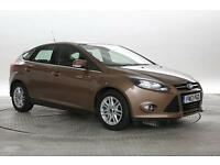 2013 (13 Reg) Ford Focus 1.6 TDCi 115 Titanium Burnished Glow 5 STANDARD DIESEL