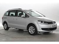 2014 (14 Reg) Volkswagen Sharan 2.0 TDi 140 BlueMotion SE DSG Reflex Silver MPV