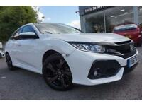 2017 Honda Civic 1.0 VTEC Turbo EX 5dr Manual Petrol Hatchback