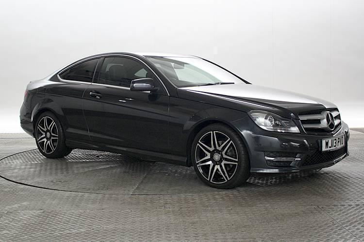 2013 13 reg mercedes c220 2 2 cdi blueeff amg sport plus magnetite black coupe in west - Mercedes c220 coupe amg sport ...