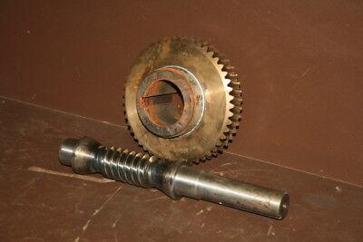 Worm gear w/worm 252-0020-252, DW0249-D11X1 Unused