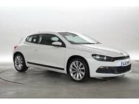 2012 (12 Reg) Volkswagen Scirocco 2.0 TDi 140 BlueMotion Tech GT DSG Candy White