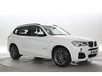 2014 (64 Reg) BMW X3 2.0 xDrive20d M Sport Alpine White DIESEL AUTOMATIC