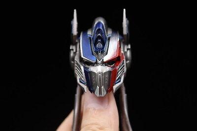 Comicave 1/22 transformers 5 optimus prime black head carving 2 replacement face