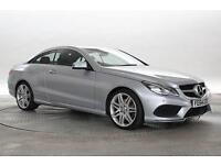 2014 (64 Reg) Mercedes E220 2.2 CDi AMG Sport Silver COUPE DIESEL AUTOMATIC
