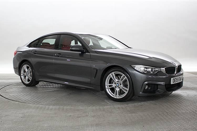 2015 15 reg bmw 430d 3 0 m sport gran coupe mineral grey diesel automatic in west london. Black Bedroom Furniture Sets. Home Design Ideas