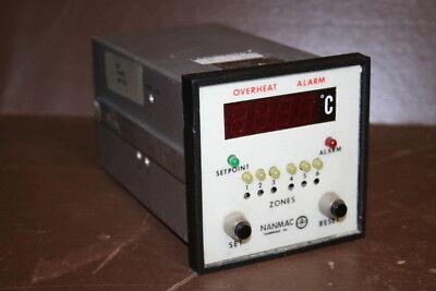 Temperature controller H27-1, RTD, deg C Nanmac