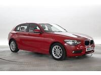 2013 (62 Reg) BMW 116D 1.6 EFFICIENTDYNAMICS Crimson Red 5 STANDARD DIESEL MANUA