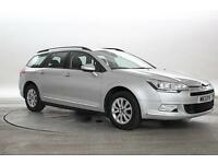 2013 (13 Reg) Citroen C5 1.6 HDi VTR + # Arctic Silver ESTATE DIESEL MANUAL