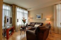 Luxuex,Meuble Condo 2 ou 3CAC/Luxury Furnished Condo 2 or 3 BDR Laval / North Shore Greater Montréal Preview