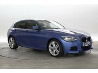 2013 (63 Reg) BMW 120D 2.0 M Sport Estoril Blue 5 STANDARD DIESEL MANUAL