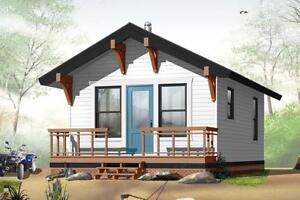 $ 52,866 NEWLY BUILT TURN KEY COTTAGE ON YOUR LOT