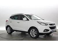 2013 (13 Reg) Hyundai IX35 2.0 CRDi Premium Creamy White DIESEL AUTOMATIC