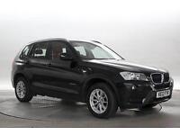 2012 (12 Reg) BMW X3 2.0 xDrive20d SE Sapphire Black DIESEL MANUAL