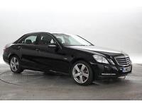 2012 (62 Reg) Mercedes E220 2.2 CDi BlueEFF SE Black DIESEL AUTOMATIC