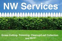 Grass Cutting! Trimming! Leaf Collection/Cleanup!Starting at $30