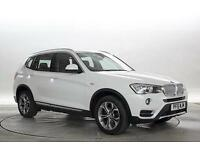 2015 (15 Reg) BMW X3 2.0 xDrive20d XLine Alpine White DIESEL MANUAL