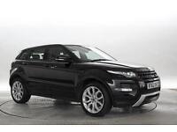 2013 (62 Reg) Land Rover Range Rover Evoque 2.2 SD4 Dynamic 5dr Santorini Black