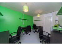 Desk Space Available. £50p/w, £150p/m or £425 per quarter.