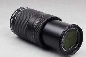 like new canon EFS 55 250 IS STM telephoto lens