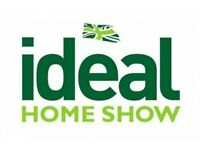 SALES PEOPLE REQUIRED AT IDEAL HOME SHOW KENSINGTON OLYMPIA