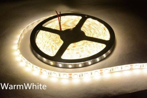 Boat Accent Light WaterProof Warm White LED Strip RV SMD 3528 600 LEDs 16ft