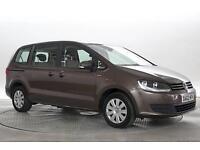 2012 (62 Reg) Volkswagen Sharan 2.0 TDi 140 BlueMotion Tech S Autumn Brown MPV D