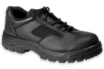 *SALE* Work Zone Black Oxford Work Shoe- Steel Toe -S477 Black Steel Toe Oxford