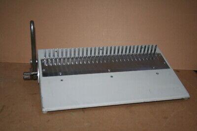 Plastic Combspine Finisher Manual Machine Combbind 16db Gbc
