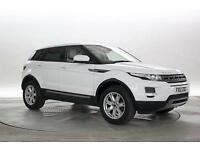 2012 (12 Reg) Land Rover Range Rover Evoque 2.2 eD4 Pure 4x2 Fuji White 5 STANDA