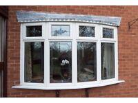 Double Glazed Windows. Set of three matching units.