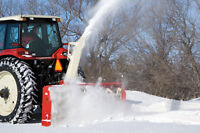 WGI Farm King Grain Auger Snow Blower Cleaners and Grain Carts