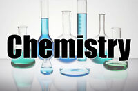 Chemistry tutoring for high school, Cegep or University.