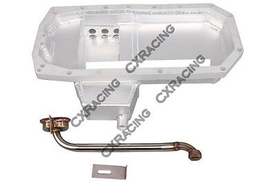 CXRacing S13 SR20DET Racing Aluminum Oil Pan For 510 SR20 Swap Rear (Sr20det Racing)